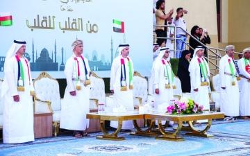 الصورة: الصورة: الإمارات تشارك عُمان أفراحها باليوم الوطني