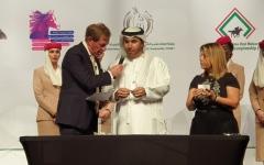 الصورة: الصورة: 5 ملايين درهم جوائز سباق جوهرة تاج زايد للخيول