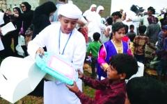 الصورة: الصورة: الإمارات.. سجل حافل بإنجازات  رعاية الطفولة