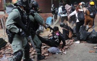 الصورة: الصورة: مجلس الشيوخ الأمريكي يقرّ قانون يدعم المتظاهرين في هونغ كونغ