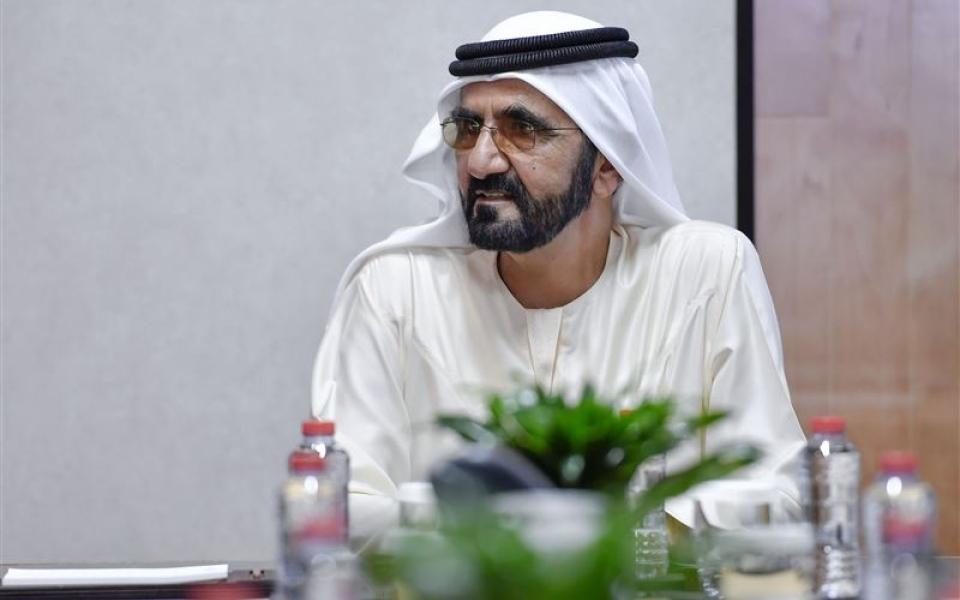 الصورة: الصورة: محمد بن راشد يصدر قانون مركز دبي المالي العالمي للملكية الفكرية