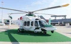 الصورة: الصورة: بمكرمة من محمد بن راشد.. شرطة دبي تضم الطائرة AW 139 إلى أسطولها الجوي