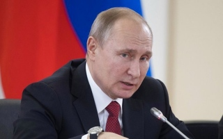 الصورة: الصورة: بوتين مهاجماً: تقنيات النفط الصخري «بربرية»