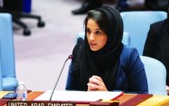 الصورة: الصورة: الإمارات تدعو لتسويات سلمية لقضايا العالم