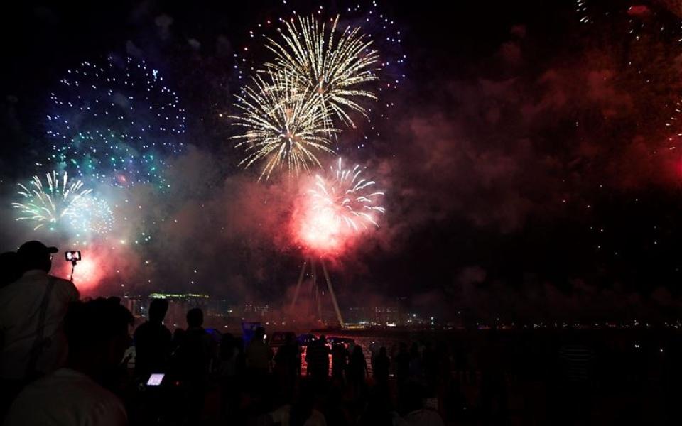 الصورة: الصورة: إعلان أجندة احتفالات اليوم الوطني الـ48 بدبي