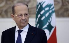 الصورة: الصورة: عون يطلب مساعدة اللبنانيين في معركة محاربة الفساد