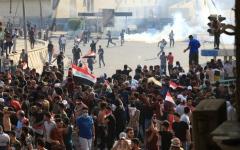 الصورة: الصورة: قتلى وجرحى في مواجهات جديدة ببغداد