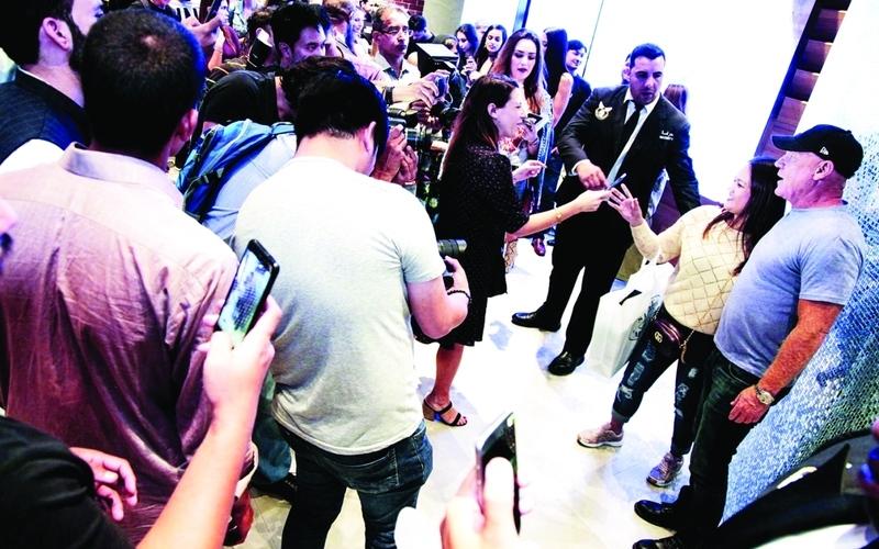 الصورة: الصورة: ستيف مادن يحتفل بالذكرى الثلاثين لعلامته في دبي