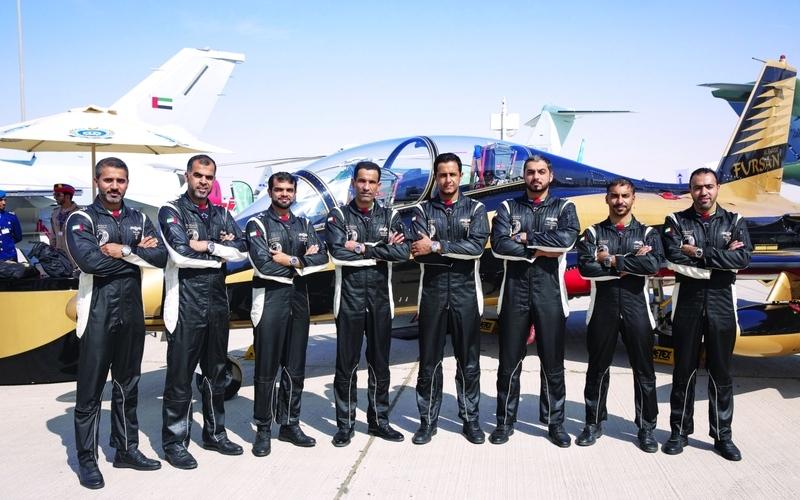 الصورة: الصورة: «بريتلينغ» تطلق «أفنجر ليمتد إديشن» لـ«فرسان الإمارات»