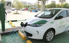 """الصورة: الصورة: """"ديوا"""" تمدد فترة الشحن المجاني للسيارات الكهربائية حتى 2021"""