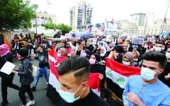 الصورة: الصورة: «يتنحاو قاع» تغزو الانتفاضات الشعبية في المنطقة