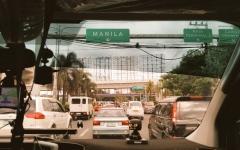 الصورة: الصورة: الفلبين تعلق الدراسة وتلغي رحلات جوية قبل وصول إعصار كاموري