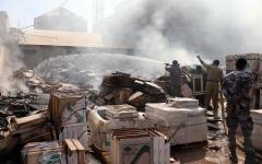 الصورة: الصورة: السودان: وفاة وإصابة 153 شخصاً بانفجار مصنع في الخرطوم