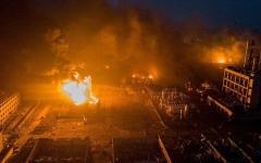 الصورة: الصورة: مقتل 11 شخصاً بانفجار في قاعة زفاف بإيران