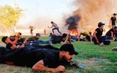 الصورة: الصورة: تهديدات «الحشد» تنذر بفوضى شاملة في العراق