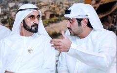 الصورة: الصورة: مكتوم بن محمد:  محمد بن راشد أهّــل دبـي لتصبح رقماً صعباً في الاقتصاد العالمي