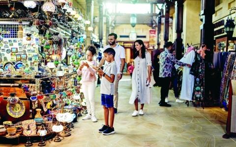 الصورة: الصورة: نمو أعداد زوار دبي من الأسواق الأوروبية والخليجية