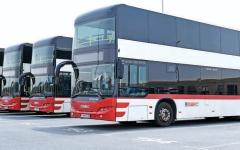 الصورة: الصورة: دبي تحتل الصدارة عالمياً في الكفاءة التشغيلية للحافلات
