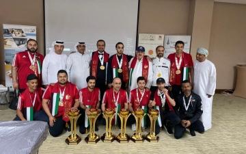 الصورة: الصورة: أبطال سنوكر الإمارات يحققون 11 ميدالية في بطولة الخليج