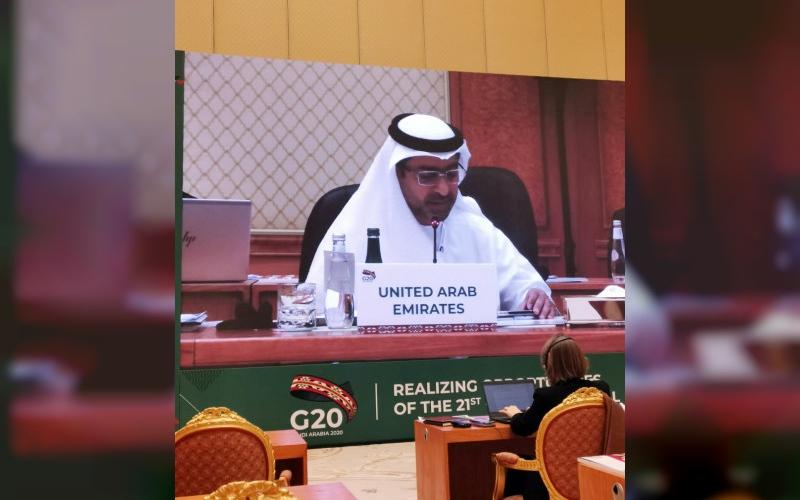 """الصورة: الصورة: الإمارات تشارك في اجتماعات وكلاء وزراء مالية و""""محافظي بنوك"""" مجموعة العشرين بالرياض"""