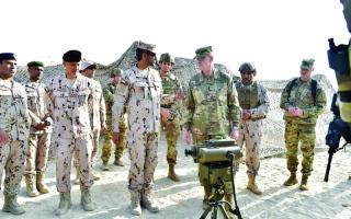 انطلاق تمرين «الاتحاد الحديدي 12» بين قواتنا البرية والجيش الأمريكي