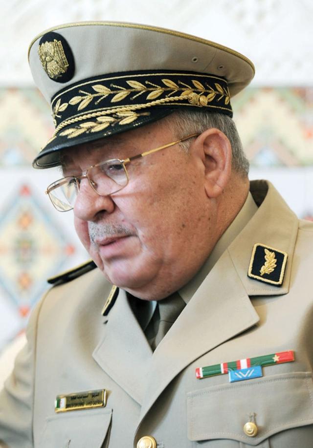 قايد صالح: أطراف لا تريد بقاء الجزائر محصنة - البيان