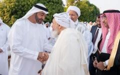 الصورة: الصورة: محمد بن زايد: نهج الإمارات يقوم على إعلاء القيم الإنسانية