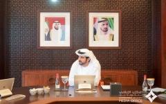 """الصورة: الصورة: برئاسة حمدان بن محمد .. """"تنفيذي دبي"""" يعتمد أجندة المجلس للعام المقبل"""