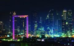 الصورة: الصورة: «برواز دبي».. مليونا زائر خلال عامين من 94 دولة