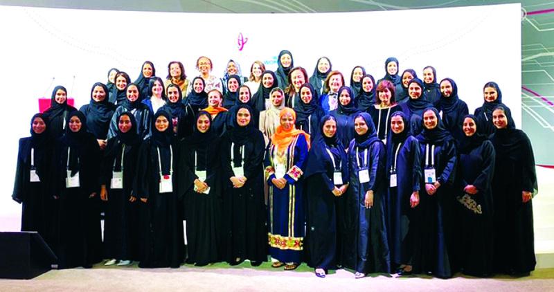 الصورة : القمة تكرم الشركاء وتؤكد على ضرورة توحيد الجهود المؤسسية للارتقاء بواقع المرأة | من المصدر