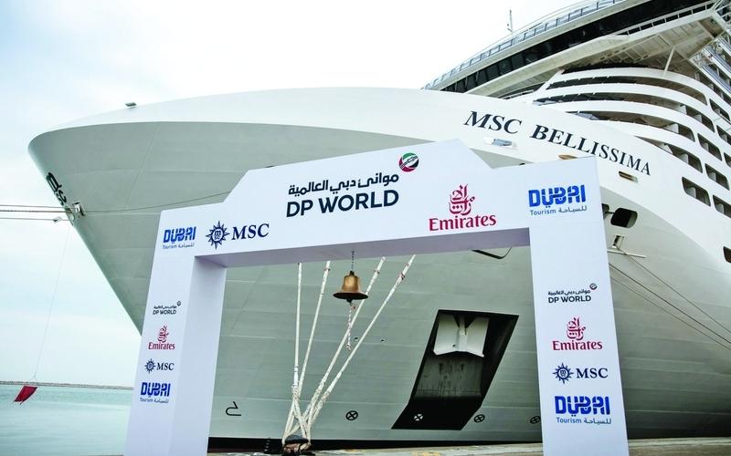 الصورة: الصورة: «إم إس سي كروزس» توقّع اتفاقية حقوق رسو تفضيلية في ميناء راشد