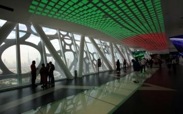 الصورة: الصورة: «برواز دبي».. أيقونة معمارية تحكي قصة دانة الدنيا