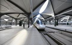 الصورة: الصورة: انطلاق أولى رحلات قطار الحرمين بعد توقف