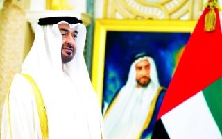 محمد بن زايد نبض الوطن وعزنا وفخرنا