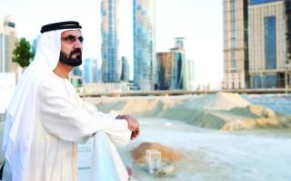 محمد بن راشد:  الإمارات أفضل دولة.. نحبها ونعشقها
