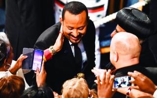 آبي أحمد يثمّن الدعم الإماراتي السعودي لإثيوبيا