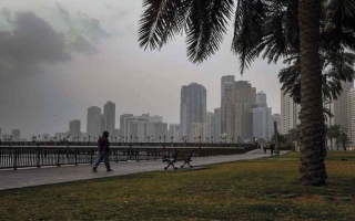 تأثر الإمارات بمنخفض جوي من الأحد إلى الخميس