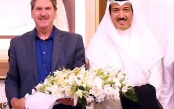 الصورة: الصورة: حشر بن مكتوم وراء تطور التنس الإماراتي