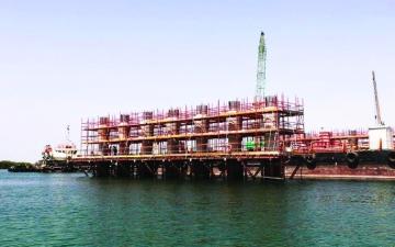 الصورة: الصورة: إنجاز 60 % من مشروع أم لفينة في أبوظبي