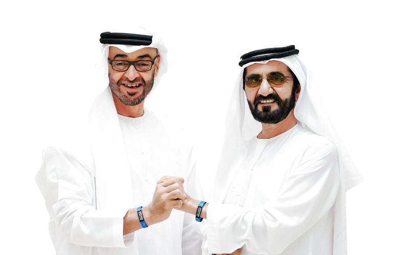 الصورة: الصورة: محمد بن راشد ومحمد بـن زايد: 2020 عام الاستعداد للخمسين