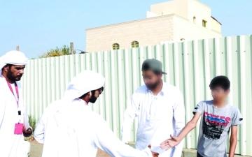 الصورة: الصورة: «ياك الفرج» ترفع الكرب عن 25 سجيناً