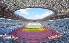 الصورة: الصورة: طوكيو 2020: تدشين رسمي للملعب الأولمبي بمواصفات مقاومة للحرارة