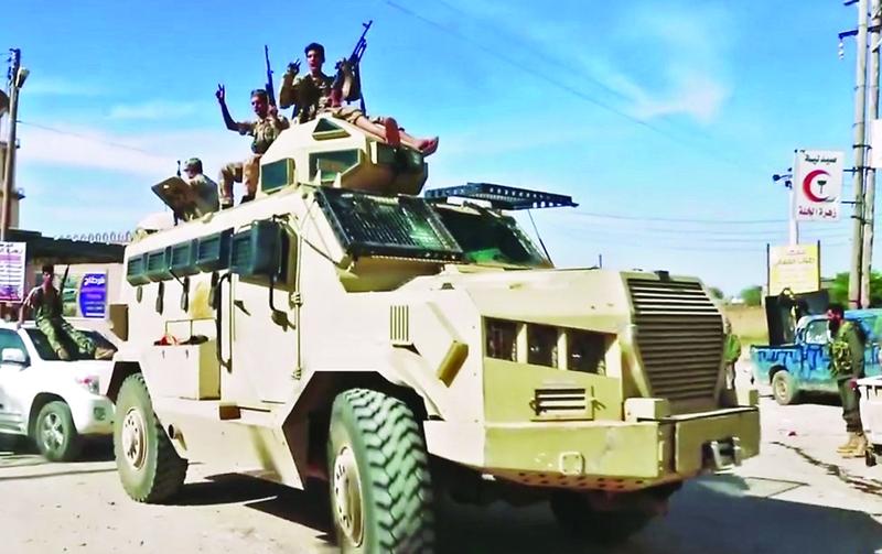 الجيش الليبي يتقدم ويمهل ميليشيات مصراتة 3 أيام البيان