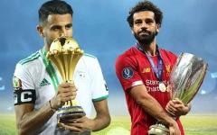 الصورة: الصورة: صلاح ومحرز.. منافسة مثالية في عقد الكرة العربية