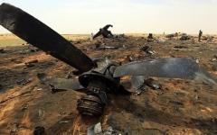 الصورة: الصورة: تحطم طائرة سودانية ومقتل جميع ركابها