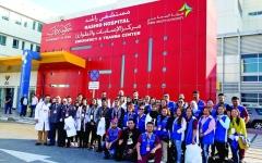 الصورة: الصورة: مشاركة فاعلة لـ«صحة دبي » في التغطية الطبية لاحتفالات رأس السنة