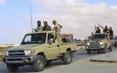 الصورة: الصورة: الجيش الليبي يحرر سرت بالكامل وسط ترحيب شعبي