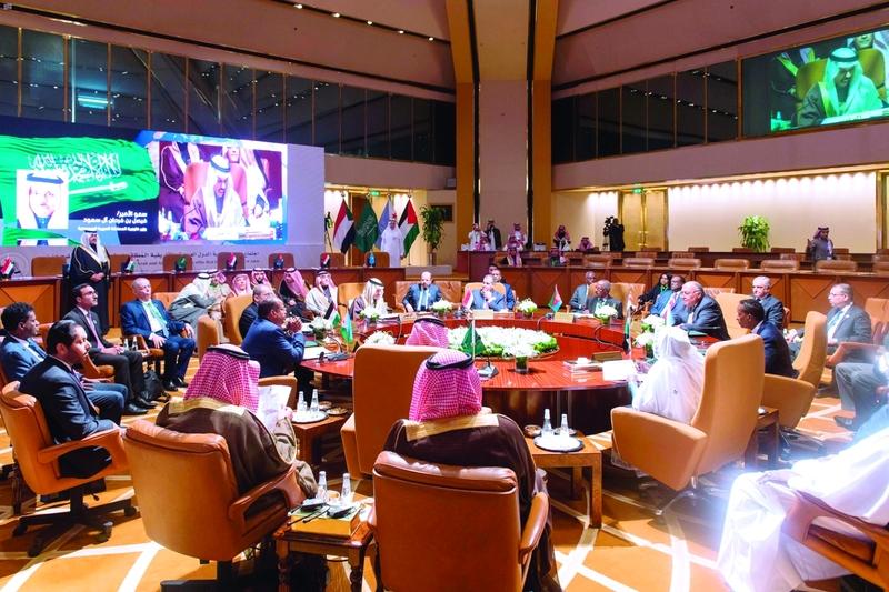 الصورة : اجتماع وزراء خارجية الدول المطلّة على البحر الأحمر في الرياض | واس