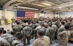 الصورة: الصورة: الكتيبة الأمريكية 82 المحمولة جواً تنتشر في الشرق الأوسط