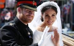 الصورة: الصورة: الأمير هاري وزوجته ميغان يتنازلان عن دورهما في العائلة الملكية